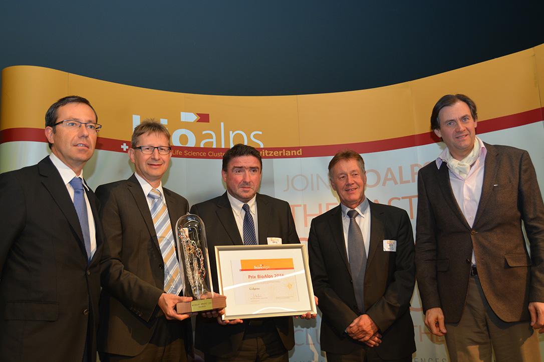 BioAlps Award 2015