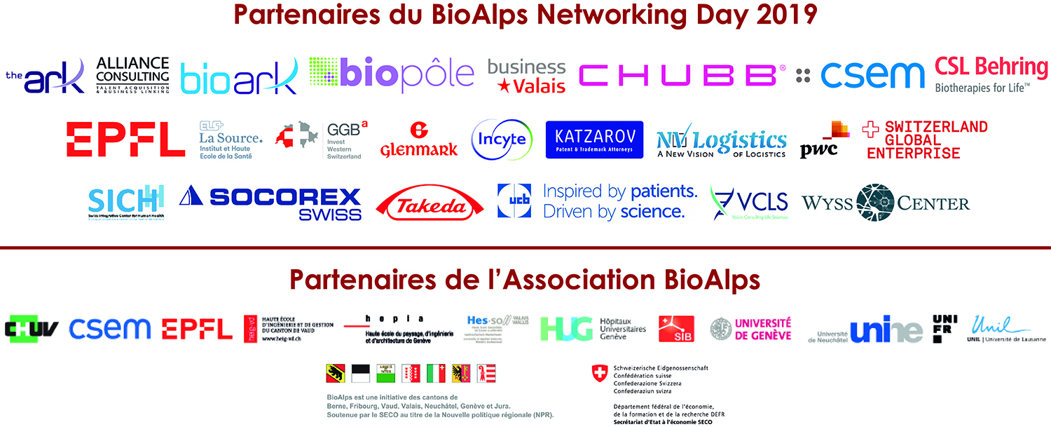 BioAlps Networking Day 2019 Members - Supporting Partners