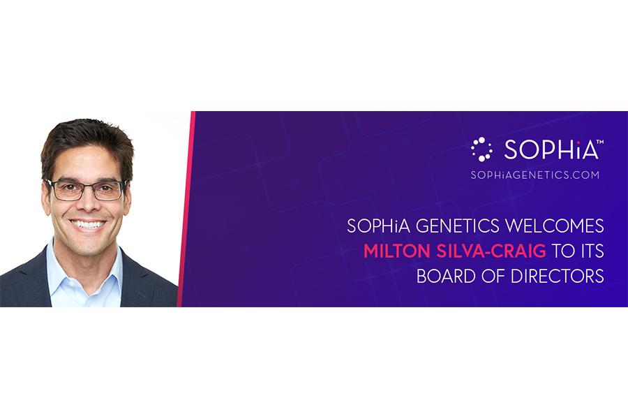 SOPHiA GENETICS Press Release