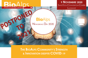 BioAlps Networking Day 2020 postponed