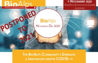 BioAlps Networking Day 2020 postponed