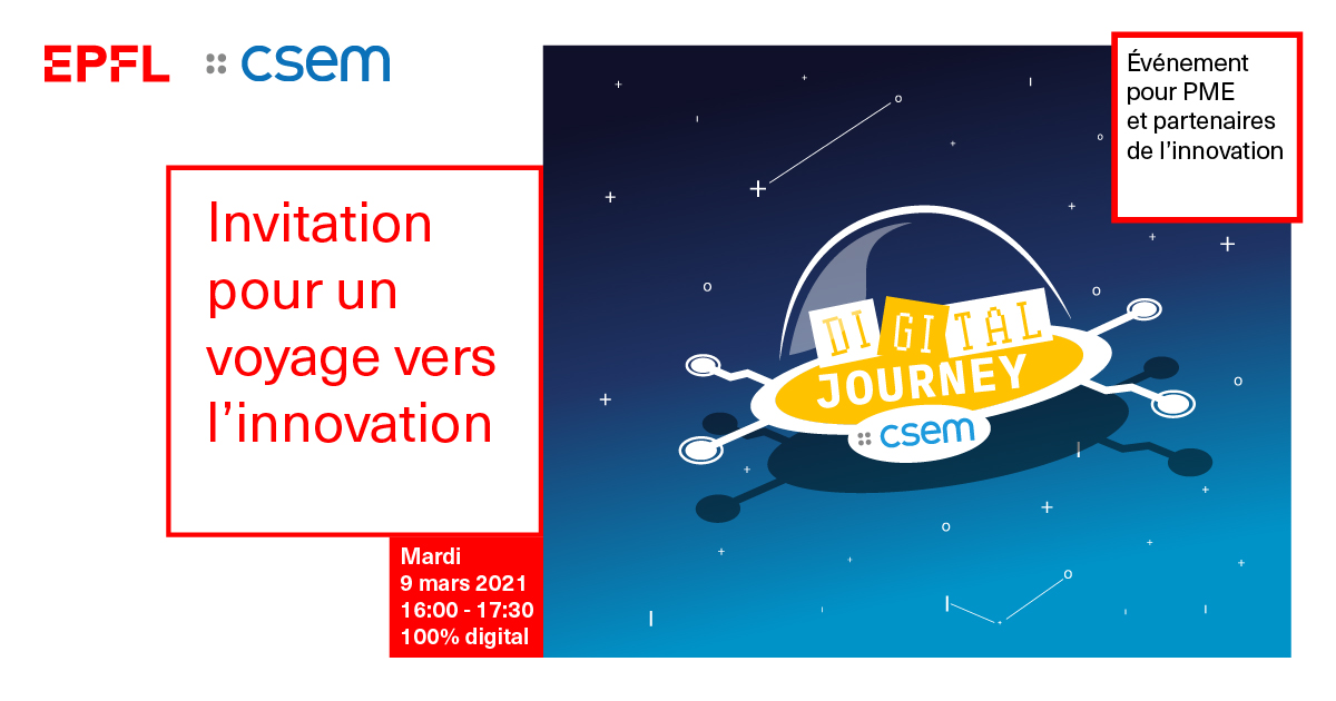 CSEM Digital Journey 2021